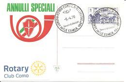 ITALIA - 1970 COMO Congresso 184° Distretto ROTARY - Rotary, Club Leones