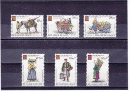 BELGIQUE 1975 THEMABELGA Yvert 1784-1789 NEUF** MNH - Belgique
