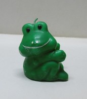 BOUGIE GRENOUILLE Assise - Bibelot Animaux Grenouilles - Animaux