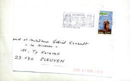 Devant De Lettre Flamme La Ferte Milon Recine Chateau - Postmark Collection (Covers)