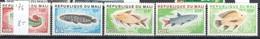 Mali Mnh Set ** 8 Euros Fish 1976 - Mali (1959-...)