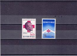 BELGIQUE 1977 CROIX ROUGE Yvert 1834-1835 NEUF** MNH - Belgium