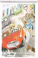 ILLUSTRATEUR  LOUIS CARRIERE  Pin Up 9x14   IL FAUT LAISSER  LE TROTTOIR A UNE FEMME.  N°777  CPM  PH319 - Carrière, Louis