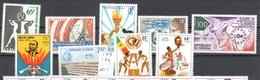 Senegal Mnh ** Lot 10 Euros 1973-74 - Senegal (1960-...)