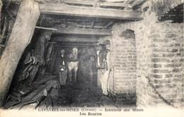 France - 23 - Lavaveix-les-Mines - Près De Laschamps , Pourtoux , Bourlat - Intérieur Des Mines - Les Ecuries - Otros Municipios