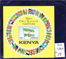 Kenya  -  Hoja Bloque  Nueva**  / 3155 - Kenia (1963-...)