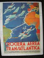 MINI POSTER  CROCIERA AEREA TRANSATLANTICA - Posters
