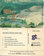 Ghana Telecom 150 UT 06/05 200.000 Akosombo Hydrodam Electricity Axalto Phonecard - Ghana