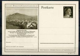"German Empires 1941 Kopfbild A.Hitler GS Mi.Nr.P304/41-187-1-B2""Lernt Deutschland Kennen!-Rappolsweller,Els.""1GS Mint - Allemagne"