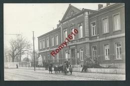 Flémalle-Haute -  Photo (épreuve) Animée. Hôtel Communal. Rare. - Flémalle