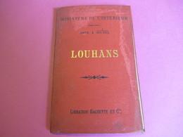 Ministère De L'Intérieur/LOUHANS/ Carte à 1-100 000éme/Librairie Hachette Et Cie/Vers 1890-1900     PGC267 - Cartes Routières