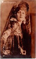 POSTAL   FOTOGRAFIA DE LA ACTRIZ   MARIA CASAJUANA - Fotos