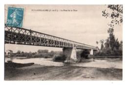 (63) 479, Puy-Guillaume, D'Erville, Le Pont De La Dore - France