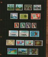 NORFOLK ISLAND - QE11 - 1966-1970- COMMS - 21 Stamps - MNH - Norfolk Island