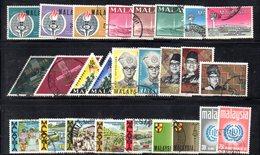 CI1340 - MALAYSIA MALESIA , Alcune Serie  Usate - Malesia (1964-...)