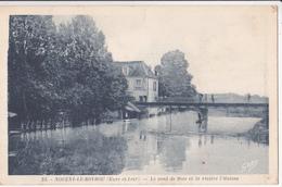 Nogent-le-Rotrou/28/ Le Pont De Bois Et La Rivière L'Huisne/ Réf:fm:1118 - Nogent Le Rotrou
