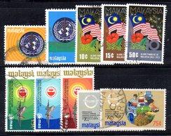 CI1334 - MALAYSIA MALESIA , Alcune Serie  Usate - Malesia (1964-...)
