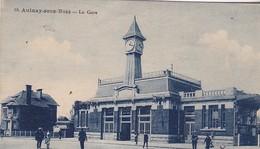 93 / AULNAY SOUS BOIS / LA GARE / CARTE TAXEE A 30 + 10 C - Aulnay Sous Bois