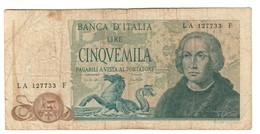 Italy 5000 Lire 20/05/1977 Colombo Colombus - 5000 Lire