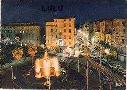 DEPT 20-2A : édit. La Cigogne N° 999311 : Ajaccio Illumination De La Place Foch Et De La Rue Bonaparte - Ajaccio