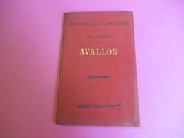 Ministère De L'Intérieur/AVALLON/ Carte à 1-100 000éme/Librairie Hachette Et Cie/1898    PGC268 - Cartes Routières
