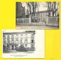VILLIERS Le BEL 2 Cpa De L'Institution De Jeunes Filles () Val D'Oise (95) - Villiers Le Bel