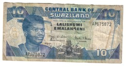 Swaziland 10 Emalangeni 01/04/2001 - Swaziland