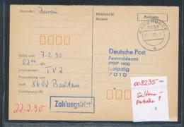 DDR  Seltene Postsache -solte Es In Privathand Nicht Geben !  ( Oo8235    ) Siehe Scan - DDR