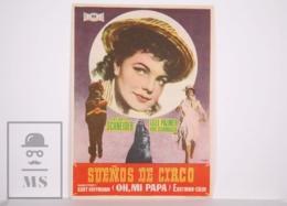 Original 1954 Feuerwerk / Fireworks Cinema / Movie Advt Leaflet - Lilli Palmer, Karl Schönböck, Romy Schneider - Publicidad