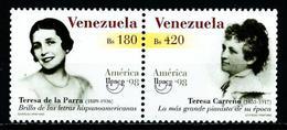 Venezuela Nº 2153/4 Nuevo - Venezuela