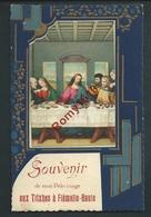 Souvenir De Mon Pélerinage Aux Trixhes à Flémalle-Haute. Carte En Relief, Collage Et Dorures - Flémalle