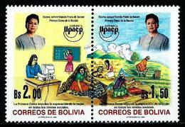Bolivia Nº 987/8 Nuevo - Bolivia