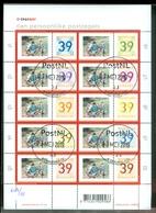 Nederland GEBRUIKT NVPH  V2182-2191 (2) * POSTFRIS GESTEMPELD  * BLOK BLOC BLOCK * - Gebruikt