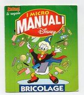 BUITONI - 2003 - I Micro Manuali Disney - Bricolage Con Nonna Papera - (FDC15686) - Kinder & Diddl