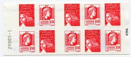 RC 12821 FRANCE CARNET N° 1512 LUQUET + MARIANNE D'ALGER N° A GAUCHE COMPOSITION VARIABLE NEUF ** TB - Freimarke