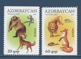 Azerbaïdjan - Europa - YT N° 679 Et 680 - Neuf Sans Charnière - 2010 - Azerbaïdjan