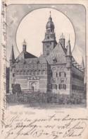 260652Wijchen, Groet Uit Wijchen. Kasteel. (poststempel 1903)(zie Hoeken) - Pays-Bas