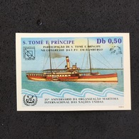 S TOMÉ E PRÍNCIPE. SHIPS. MNH. D2904BC - Barcos