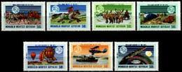 Mongolia, 1974, UPU Centenary, Universal Postal Union, United Nations, MNH, Michel 842-848 - Mongolie