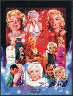 Mongolia, 1995, Marilyn Monroe, Actress, Cinema, Film, MNH Sheet, Michel 2603-2611 - Mongolie