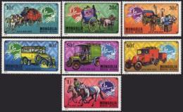 Mongolia, 1974, UPU Centenary, Universal Postal Union, United Nations, MNH, Michel 909-915 - Mongolie