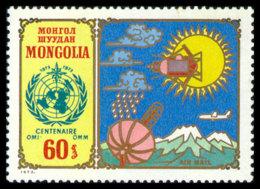 Mongolia, 1973, WMO Centenary, World Meteorological Organization, United Nations, MNH, Michel 773 - Mongolie