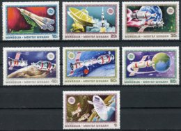 Mongolia, 1975, Apollo, Soyuz, Space, MNH, Michel 924-930 - Mongolie