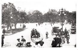 New York Entrance To Central Park - B&W - Animation - Written 1905  - 2 Scans - Manhattan