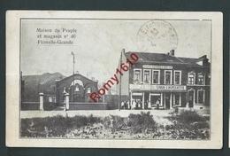 Flémalle-Grande - Maison Du Peuple Et Magasin N°46. Parti Ouvrier Belge, Union Coopérative. 2 Scans - Flémalle