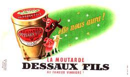 M D/Buvard     Moutarde Dessaux  (N= 1) - Mostard