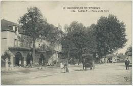 Gannat-Le Boubonnais Pittoresque-Place De La Gare (CPA) - Otros Municipios
