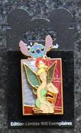 DLRP - Pin'art Event - Modistitchiani - Stitch & Tinker Bell   Limited Edition 900 Ex. - Disney