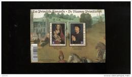 Belgie France Joint Issue 2010 4085/86 Primitieven BL185 Paintings Flemish Primitives Roger De La Pasture Weyden - Libretti 1962-....