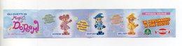 DOLCI PREZIOSI - MAGICA DOREMI - 1999 - Cartina 1^ Serie - (FDC15688) - Kinder & Diddl